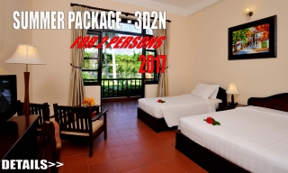 Summer Package 3D2N valid for 2 persons !