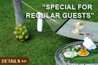 """Special for regular guests"""
